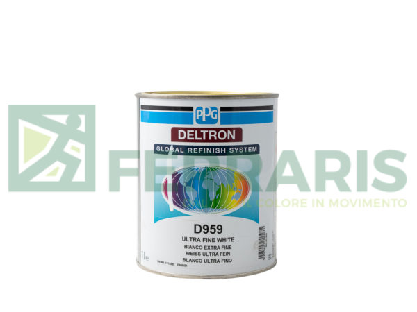 PPG D959 DELTRON BC FINE WHITE LITRI 1