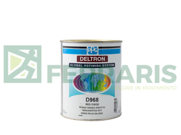 PPG D968 DELTRON BC TRACE RED LITRI 1