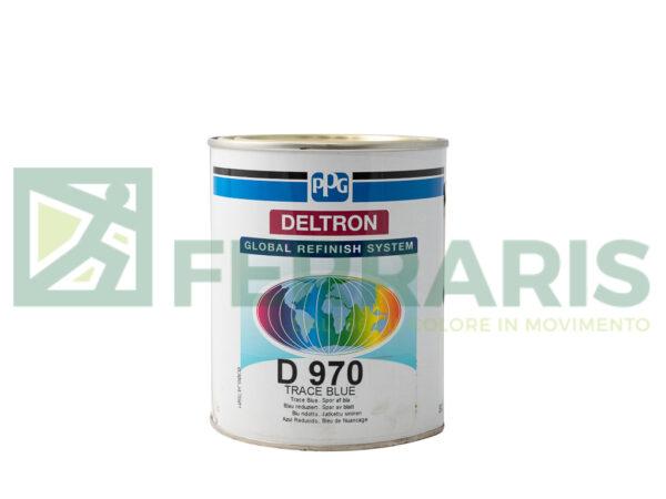 PPG D970 DELTRON BC BLUE LITRI 1