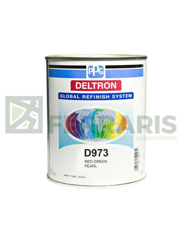 PPG D973 DELTRON BC VERDE ROSSO PERLA LITRI 1