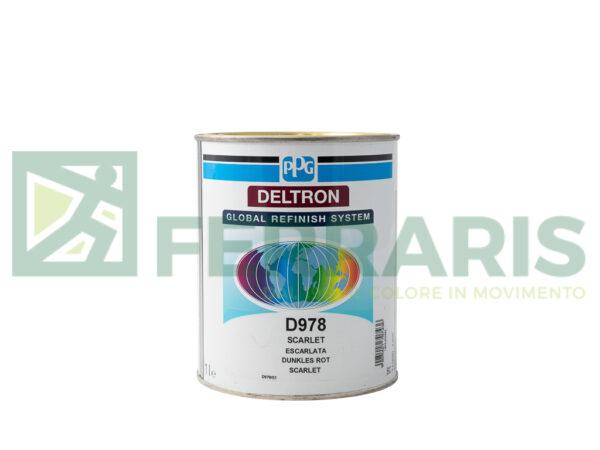 PPG D978 DELTRON BC ROSSO LITRI 1