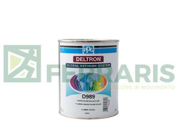 PPG D989 DELTRON BC COARSE SILVER LITRI 1