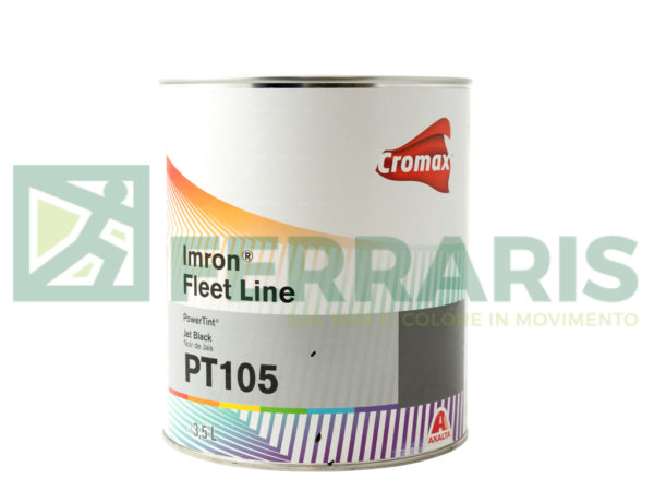 CROMAX PT105 BASE IMRON JET BLACK LITRI 3,5