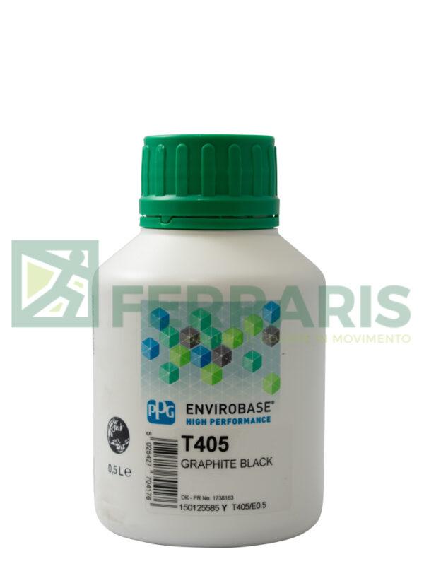 PPG T405 ENVIROBASE HP GRAPHITE BLACK LITRI 0,5