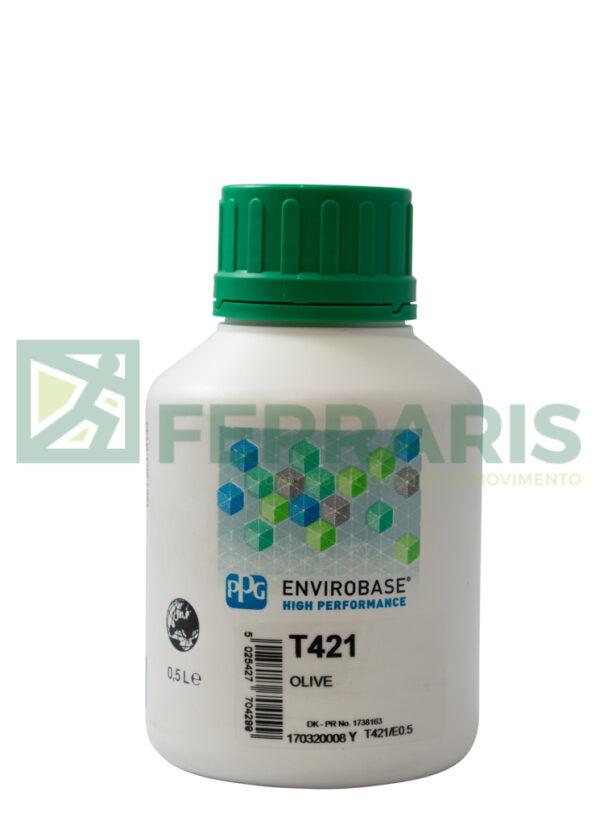 PPG T421 ENVIROBASE HP VERDE OLIVA LITRI 0,5