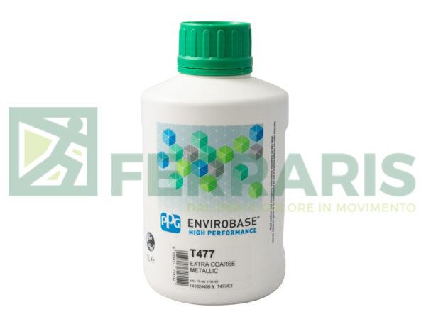 PPG T477 ENVIROBASE HP COARSE METALLIC LITRI 1