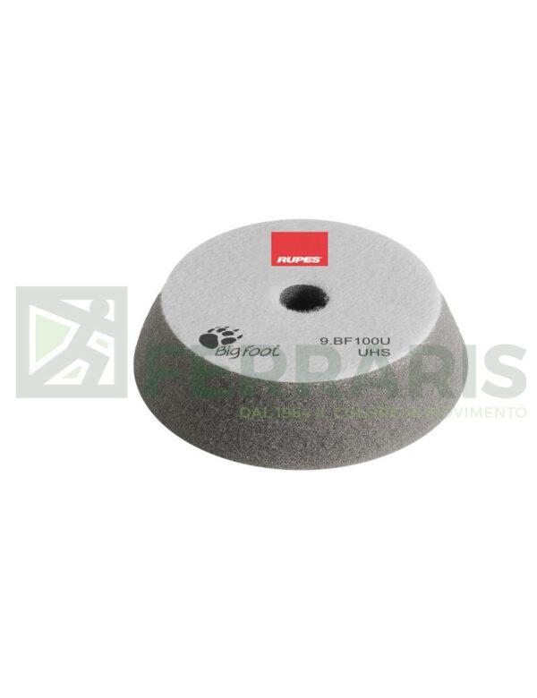 RUPES 9.BF100U TAMPONE IN SPUGNA UHS GRIGIO DIAMETRO 80/100 mm