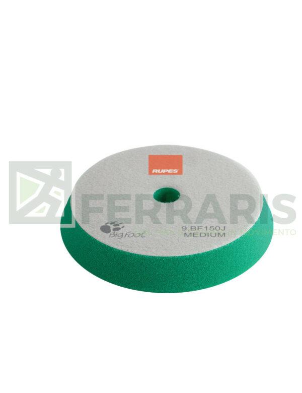 RUPES 9.BF150J TAMPONE IN SPUGNA COARSE VERDE DIAMETRO 130/150 mm
