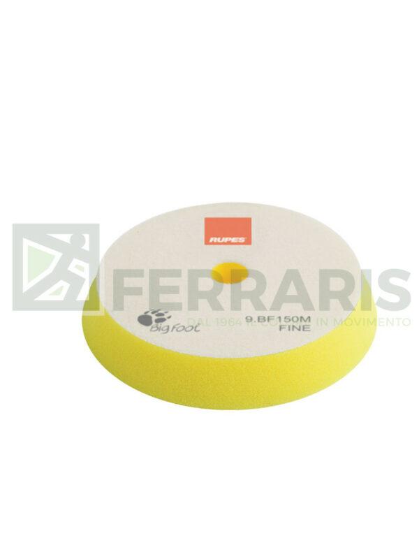 RUPES 9.BF150M TAMPONE IN SPUGNA FINE GIALLO DIAMETRO 130/150 mm