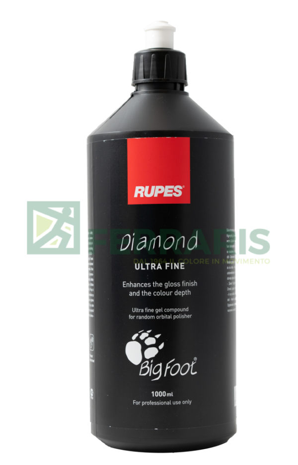 RUPES 9.BFDIAMOND POLISH ABRASIVO DIAMOND ULTRA FINE 1 LITRO