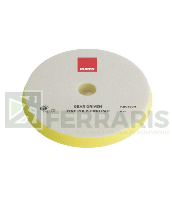 RUPES 9.BG180M TAMPONE GIALLO PER ROTOECCENTRICA FINE MILLE 150/165 mm
