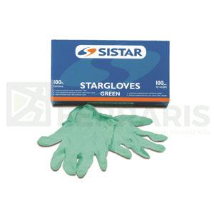 SISTAR 551.2965.XL GUANTI STARGLOVES GREEN LISCIO LATTICE TAGLIA XL