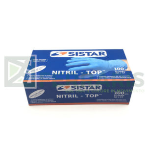 SISTAR 553.2751 GUANTI NITRIL-TOP TAGLIA M PEZZI 100