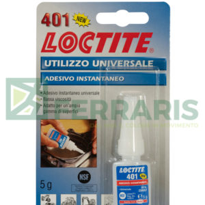 LOCTITE 401 ADESIVO ISTANTANEO 5 gr
