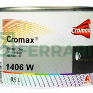 CROMAX 1406W BASE OPACA NERO HS LITRI 0,5