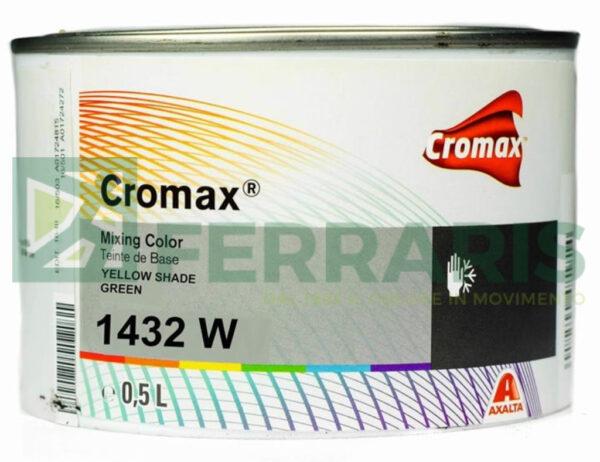 CROMAX 1432W BASE OPACA YELLOW SHADE GREEN LITRI 0,5