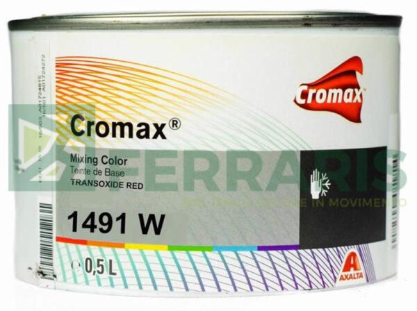 CROMAX 1491W BASE OPACA TRANSOXIDE RED LITRI 0,5