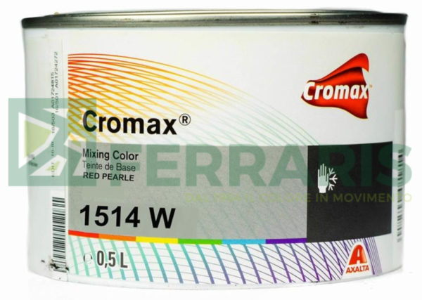 CROMAX 1514W BASE OPACA RUTILE RED PEARL LITRI 0,5