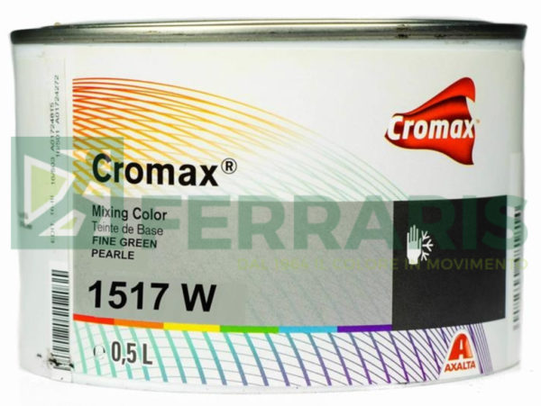CROMAX 1517W BASE OPACA SATIN GREEN PEARL LITRI 0,5