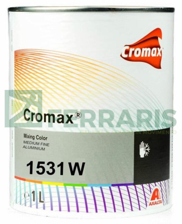 CROMAX 1531W BASE OPACA ACQUA MEDIUM FINE ALUMINIUM LT 1