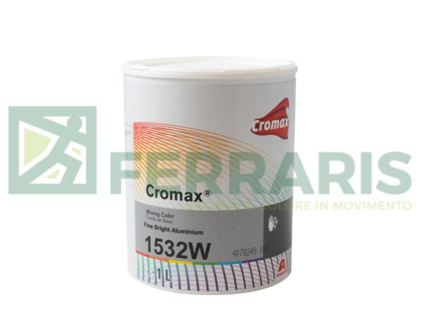 CROMAX 1532W BASE OPACA FINE BRIGHT ALUMINIUM LITRI 1