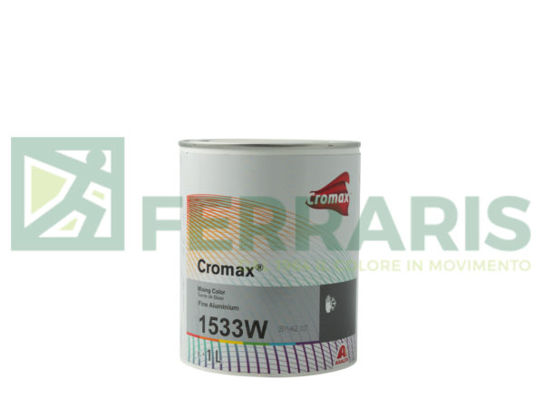 CROMAX 1533W BASE OPACA FINE ALUMINIUM LITRI 1