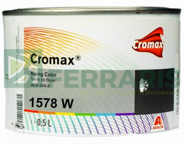 CROMAX 1578W BASE OPACA ALUMINIUM GOLD LITRI 0,5