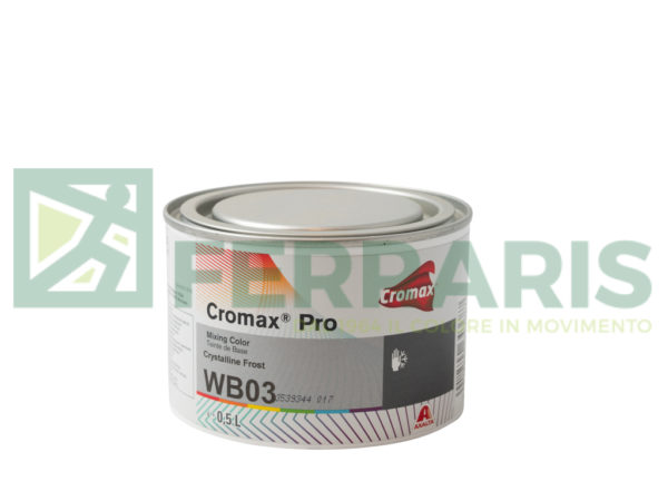CROMAX PRO WB03 BASE CRYSTALLINE FROST LITRI 0,5