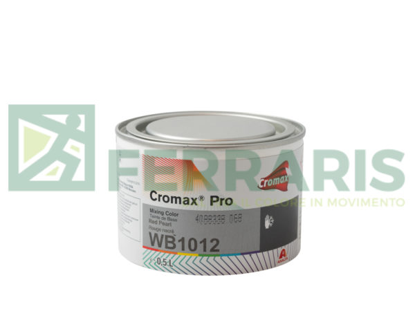 CROMAX PRO WB1012 BASE RED PEARL LITRI 0,5