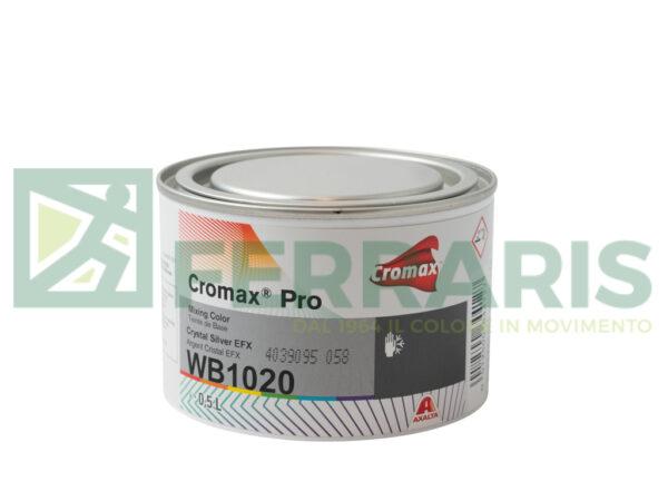 CROMAX PRO WB1020 BASE CRYSTAL SILVER EFX LITRI 0,5