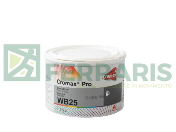 CROMAX PRO WB25 BASE OPACA BLUE HS LITRI 0,5