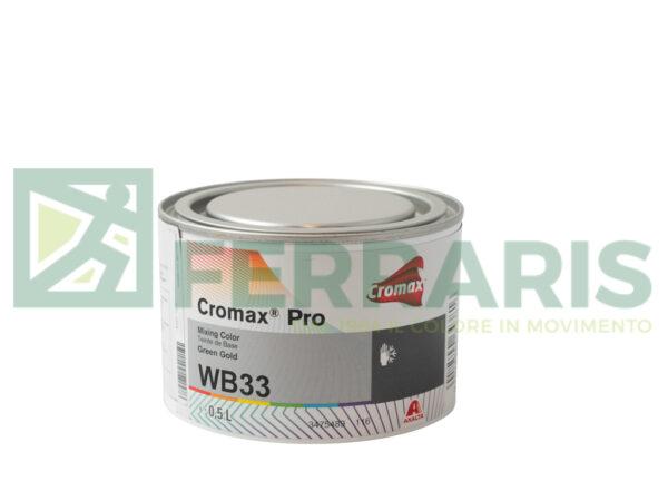 CROMAX PRO WB33 BASE OPACA GREEN GOLD LITRI 0,5