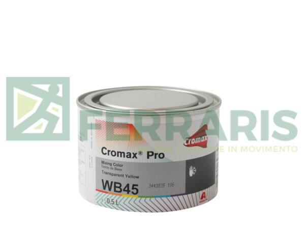 CROMAX PRO WB45 BASE OPACA TRASPARENT YELLOW LITRI 0,5