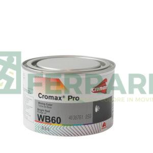 CROMAX PRO WB60 BASE OPACA BRIGHT RED LITRI 0,5