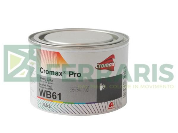 CROMAX PRO WB61 BASE OPACA SCARLET RED LITRI 0,5