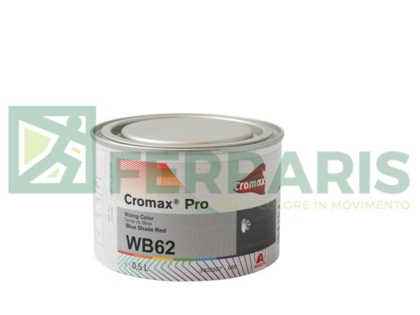 CROMAX PRO WB62 BASE OPACA BLUE SHADE RED LITRI 0,5