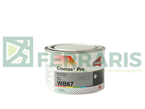 CROMAX PRO WB67 BASE OPACA RED LITRI 0,5