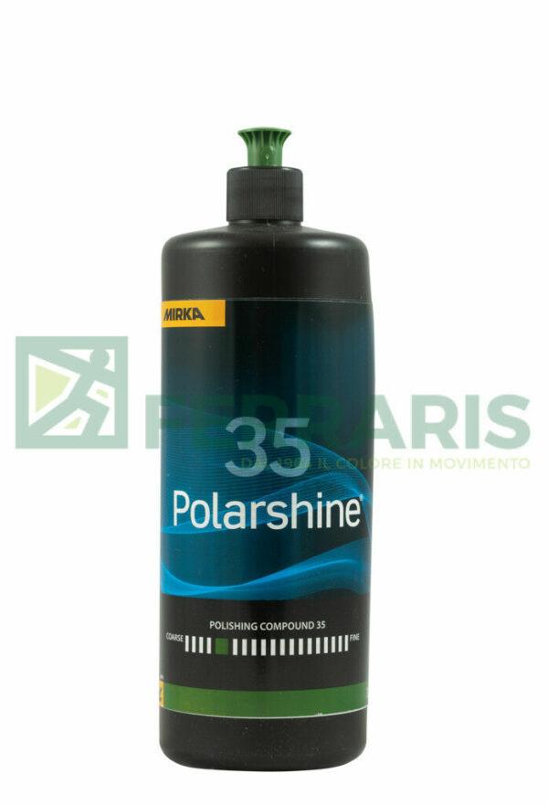 Mirka Polarshine 35 pasta abrasiva 1 lt per lucidatura auto carrozzeria lucidare