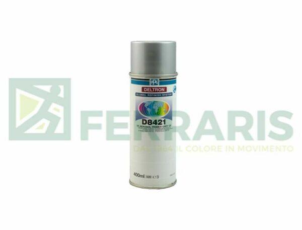 Fondo spray grigio PPG D8421 primer carrozzeria auto tuning verniciatura 400ml