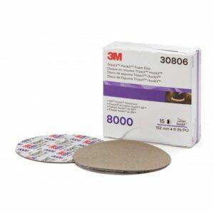 3M 30806 DISCHI TRIZACT HOOKIT P8000 D150 PEZZI 15