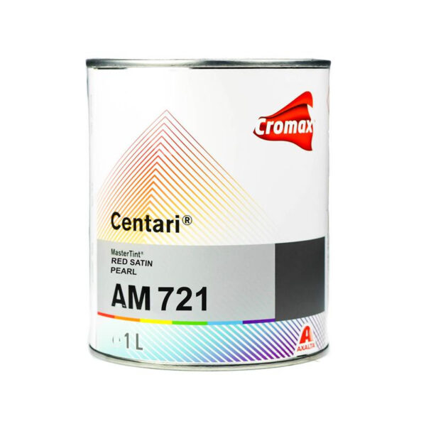 CROMAX AM721 CENTARI BASE RED SATIN PEARL LITRI 1
