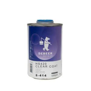 DEBEER HS 420 CLEAR COAT 8-414 LT 1