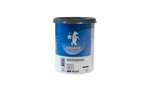 DEBEER WATERBASE MM 913 VF METALLIC VERY FINE 1 lt