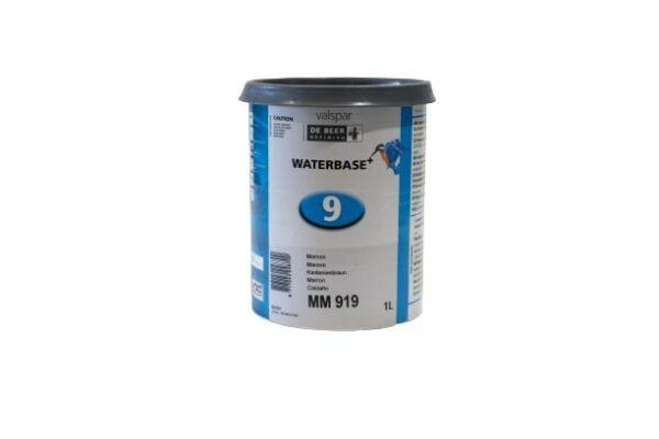 DEBEER WATERBASE MM 919 MAROON 1 lt