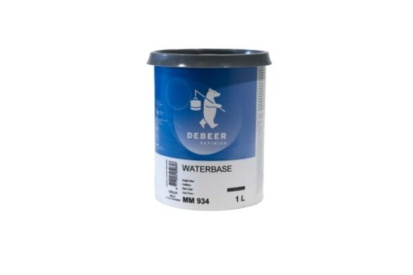 DEBEER WATERBASE MM 934 BRIGHT BLUE 1 lt