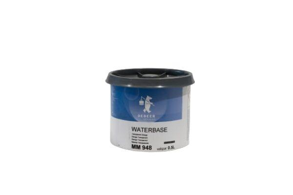 DEBEER WATERBASE MM 948 TRASPARENT ORANGE 0,5 lt