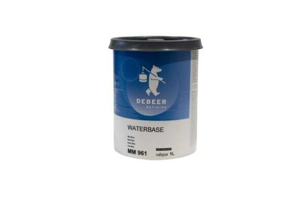 DEBEER WATERBASE MM 961 MICA BLUE 1 lt