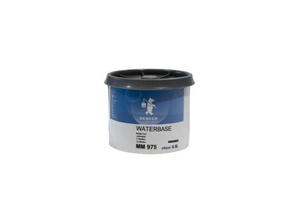 DEBEER WATERBASE MM 975 METALLIC GOLD 0,5 lt