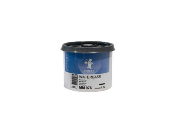 DEBEER WATERBASE MM 976 MICA BLUE FINE 0,5 lt
