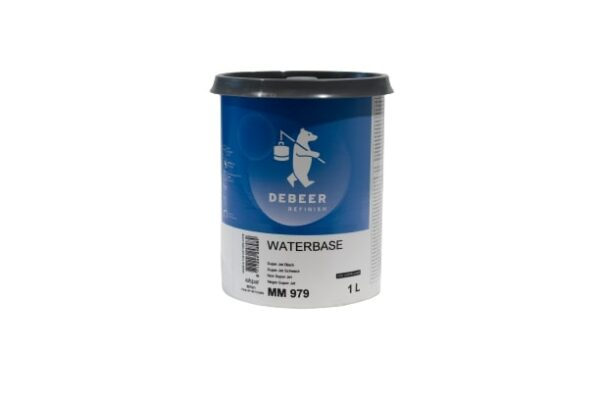 DEBEER WATERBASE MM 979 SUPER JET BLACK 1 lt